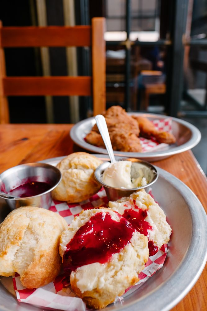 Great fried chicken at The Eagle. A Local's List: Where to Eat and Drink in Columbus, Ohio | Thought & Sight