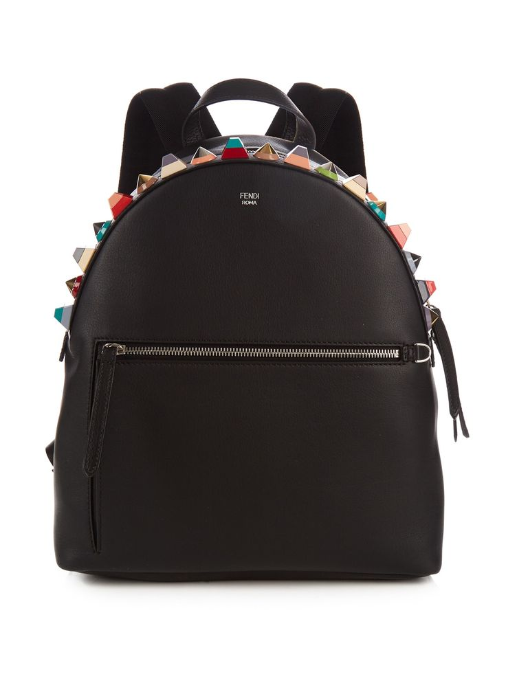 Embellished leather backpack | Fendi | MATCHESFASHION.COM