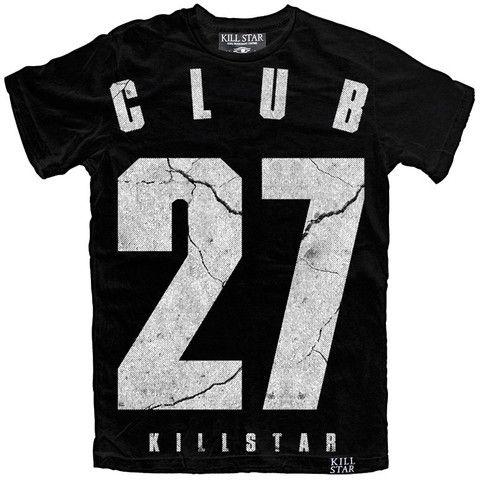 Club 27 T Shirt [B] | KILLSTAR