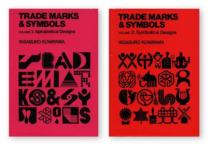 Libros en PDF: Trademarks & Symbols Vol I y II de Yasaburo Kuwayama | Nice Fucking Graphics!