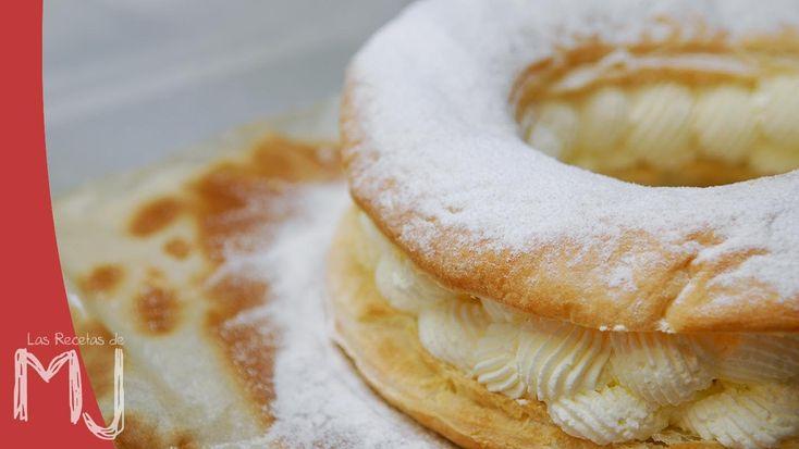 Cómo hacer un hojaldre relleno de nata, una tarta rápida, fácil y resultona. Ideal para cuando tenemos invitados sorpresa... ¡Hasta nos serviría como Roscón ...