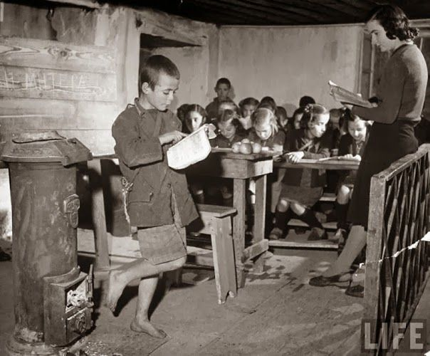 School during the German occupation of Greece in 2nd world war.