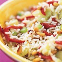 Recept - Rijstsalade met geroosterde paprika - Allerhande
