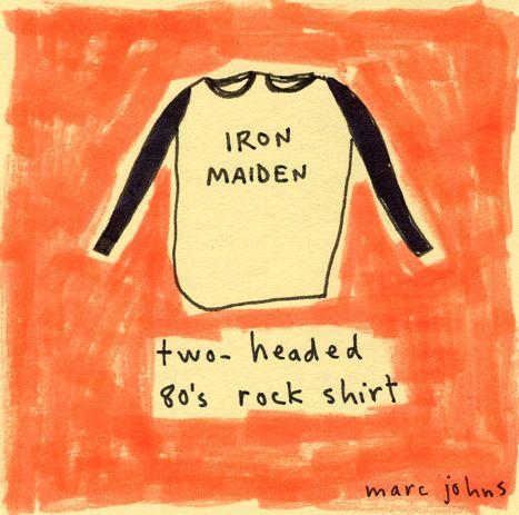 Vocês já conhecem o trabalho de Marc Johns? Se trata de um artista canadense que tem como seu maior trunfo artístico, na minha opinião, o bom humor, ácido e sarcástico.