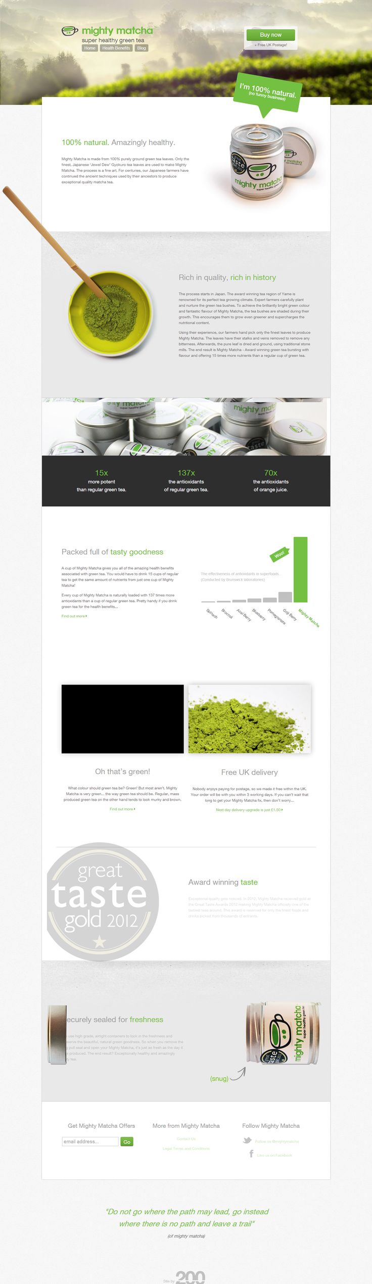 http://www.mightymatcha.com/ We love Webdesign, Wordpress and SEO. Come visit us in Vienna, Austria or at http://www.ostheimer.at
