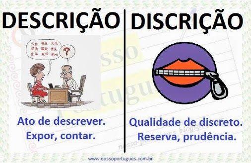 Nosso Português: Parônimos