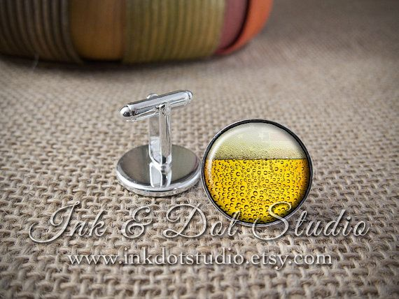 Hey, I found this really awesome Etsy listing at https://www.etsy.com/listing/205931732/beer-cuff-links-beer-cufflinks-gift-for