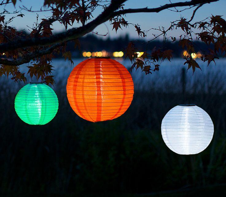 Good Soji Solar Lanterns. No Cords Needed...Ever! Www.allsopgarden.