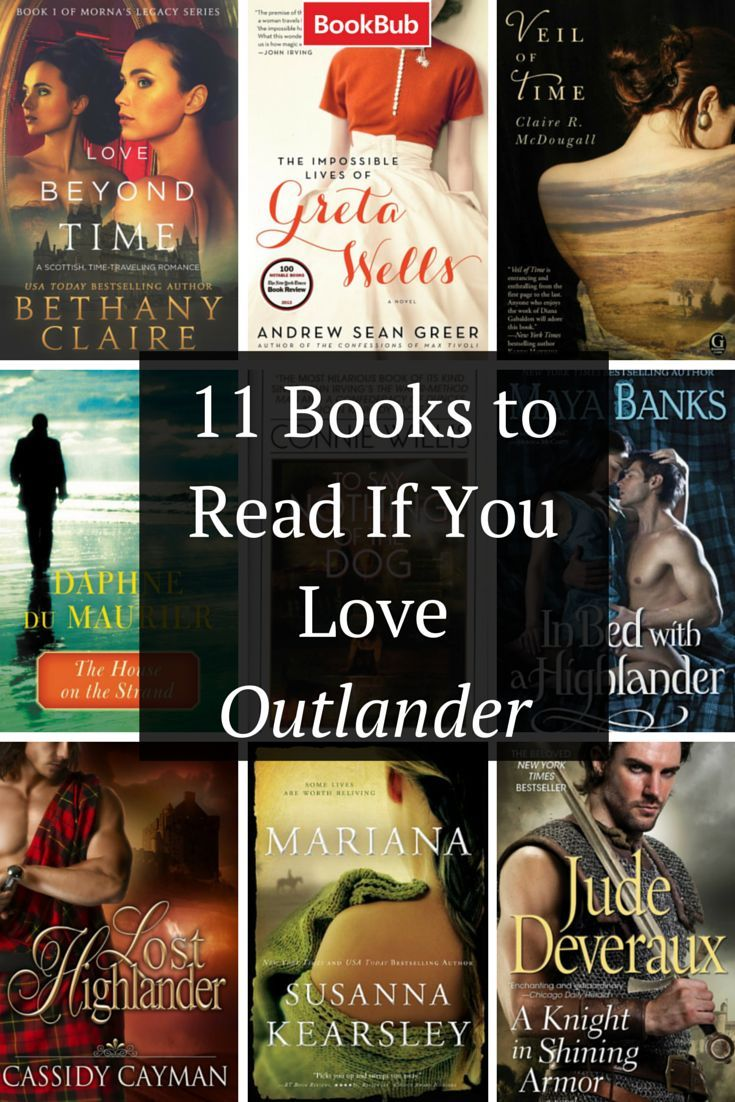Breezed through #Outlander? Here's what to read next.