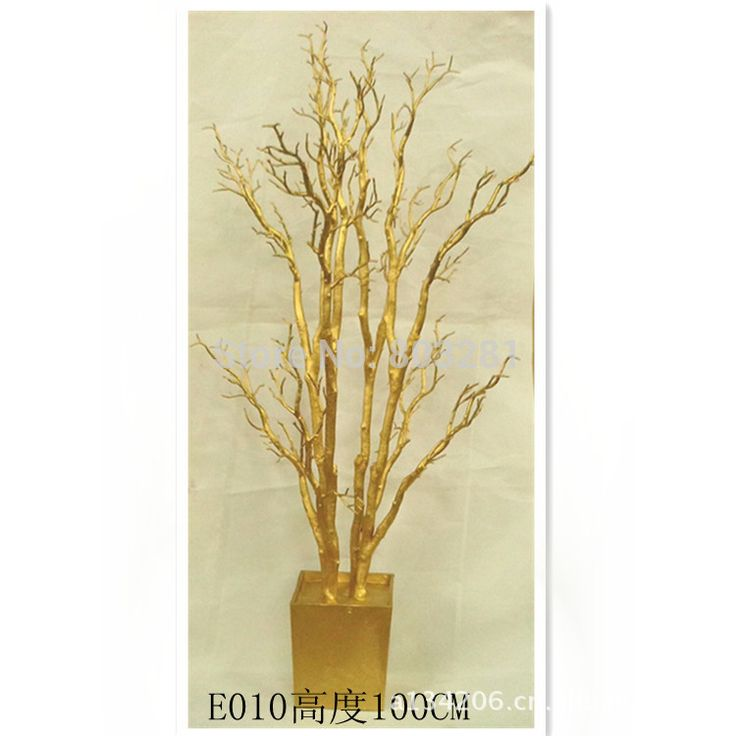 40inches tall wedding and event Decorative statue tree Christmas PE simulation tree Natural  Branch wedding tree Christmas tree