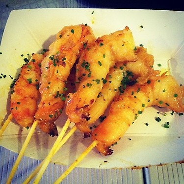 curry & coconut prawns by chef roble