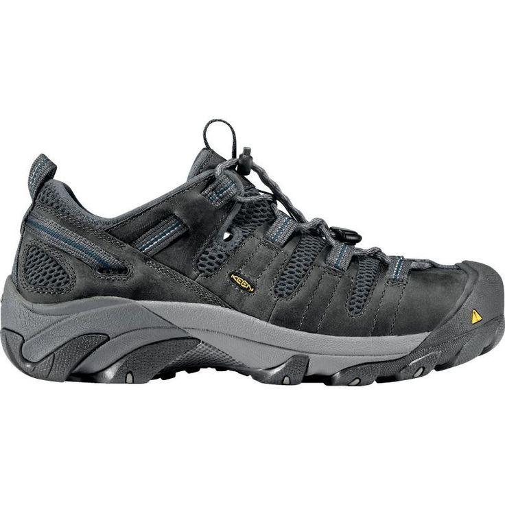 Keen Men's Atlanta Cool ESD Steel Toe Work Shoes, Gargoyle