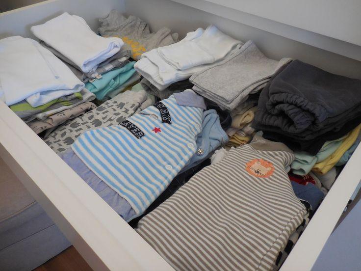 Realizando um Sonho | Blog de casamento, casa e maternidade: Como organizo o guarda roupa e a cômoda do quarto Matheus
