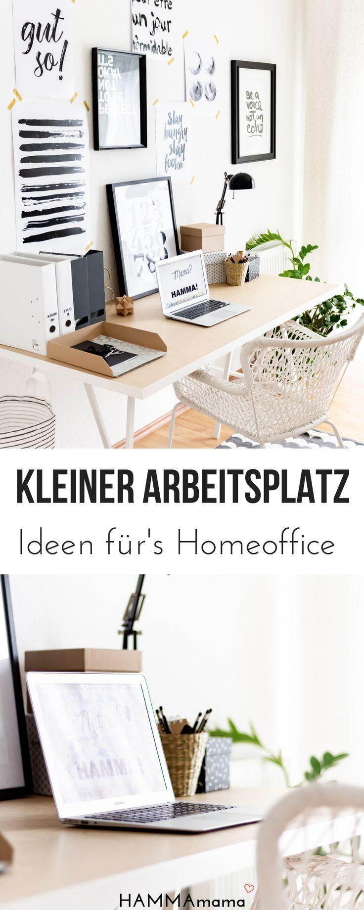 Homeoffice Ideen Fur Den Blogger Arbeitsplatz Ein Kleines Arbeitszimmer Kleines Arbeitszimmer Arbeitszimmer Einrichten Zimmereinrichtung