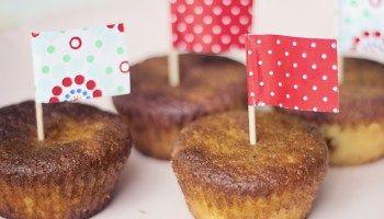 Luchtige citroen cupcakes! (suikervrij - glutenvrij - zuivelvrij - e nummervrij)