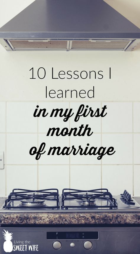 "Newly married life is pretty awesome. But it's filled with challenges of its own. Here are a few of ""Huh..."" moments I had within my first month of marriage."