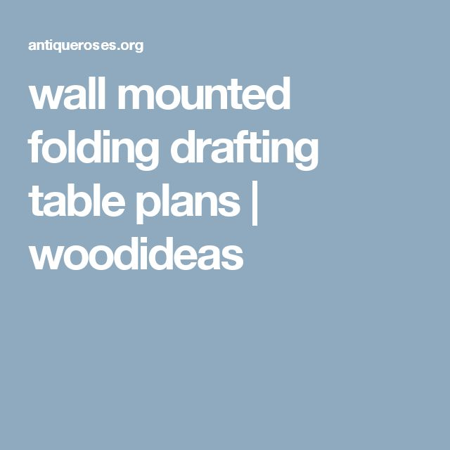 Best 25+ Wall mounted folding table ideas on Pinterest ...