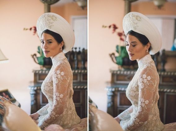 { PART 1 } - Catherine + Pete's wedding celebrations began with a elegant and beautiful, traditional Vietnamese Tea Ceremony, held at the bride's parents home.Their ceremony was truly fascinating... Catherine looked ever-so-elegant in her stunning traditional Vietnamese Ao dai gown and…
