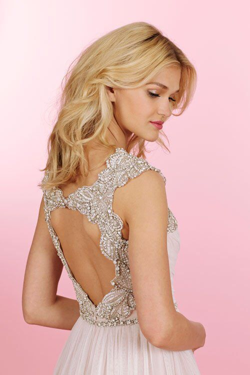 Elegant All bridal samples are on sale off at Mia Bella right now