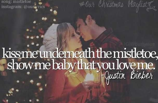 despite his current actions, i still love and can't get over this song ♥ Mistletoe - Justin Bieber