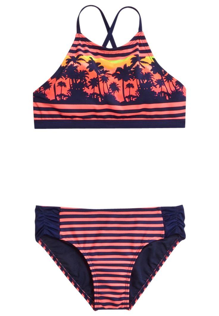 Scenic Stripe Bikini Swimsuit