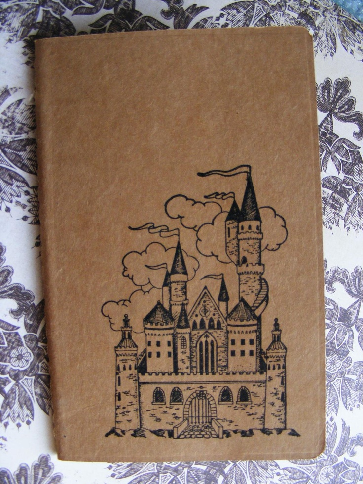 Fairytale Castle Kraft Journal Cahier