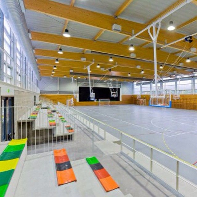 Image 12 Of 22 From Gallery Sports Center In Rub CGP Arquitectos Photograph By Francisco Urrutia