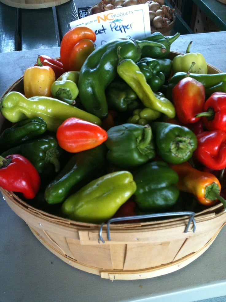 Peppers, Greensboro Farmers Market #GSO BentTuba.com