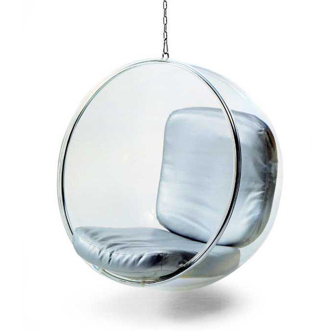 Bubble Chair, Eero Aarnio, 1968. Ik heb deze stoel gekozen, omdat ik
