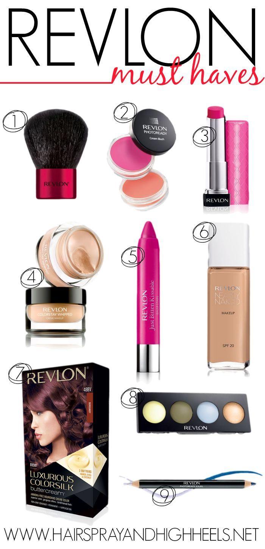 Best Revlon Products via www.hairsprayandh...