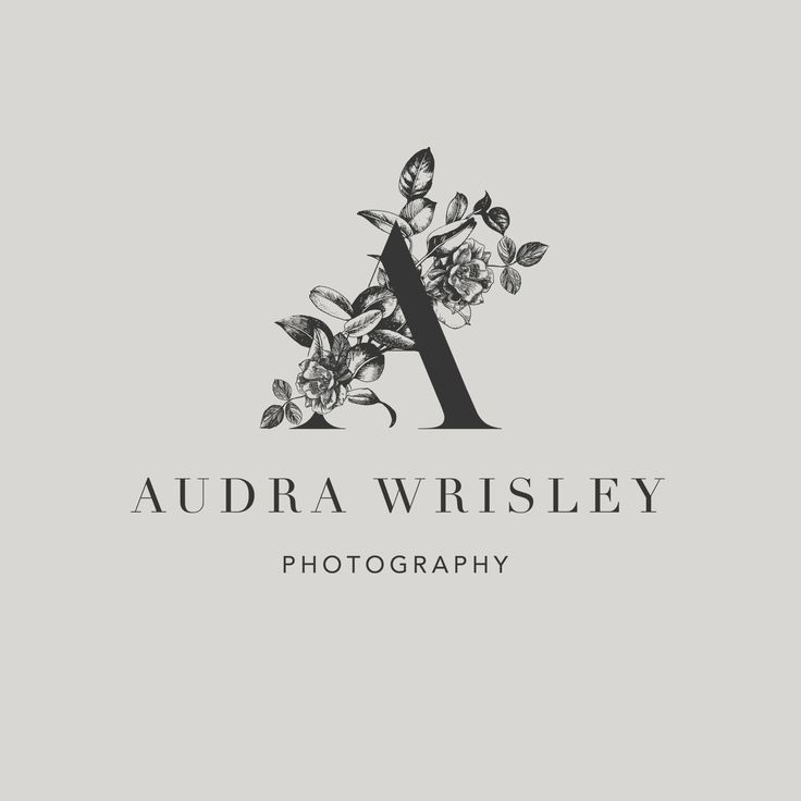 Audra Wrisley Photography Logo Design by Harper Maven Design