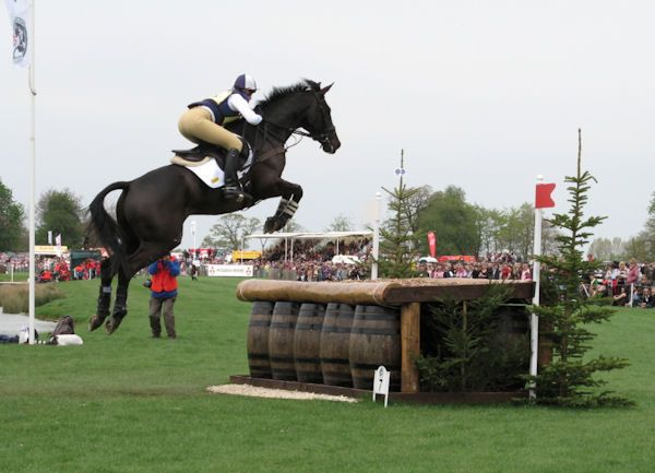 Nicola Wilson and Opposition Buzz - Badminton 2008, taken by Katharine Begley
