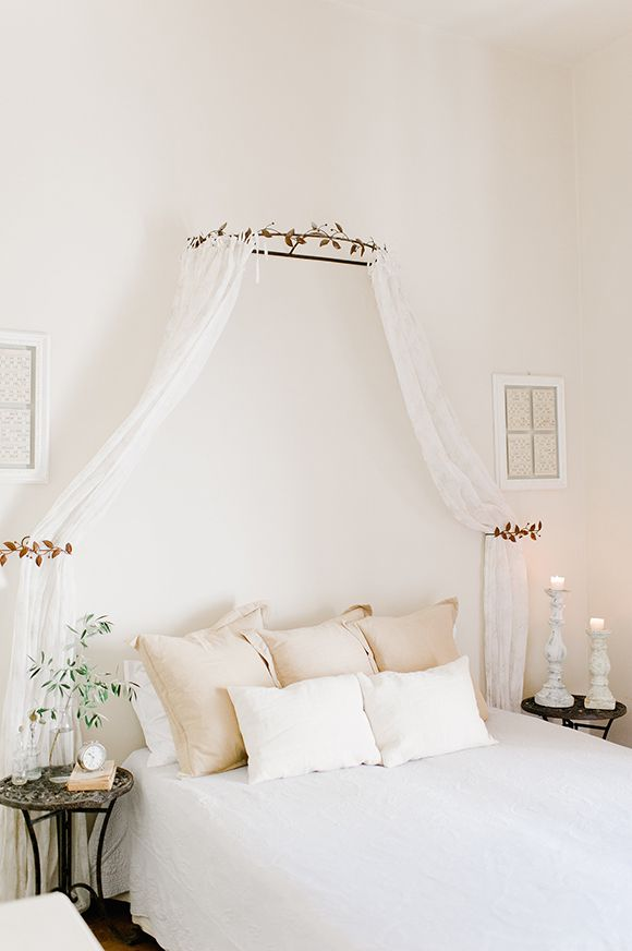 Intimate And Romantic Tuscan Boudoir