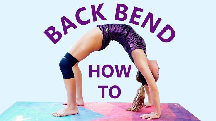 Gymnastics At Home: Backbend Challenge! Flexibility Stretches & Workout, How to do a Back Bend!  Coach Joy teaches you how to do a back bend! Follow along with this workout and stretch routine to improve flexibility in the back-- great for gymnasts and cheerleaders!