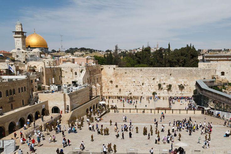 Стена Плача, Иерусалим, Израиль.