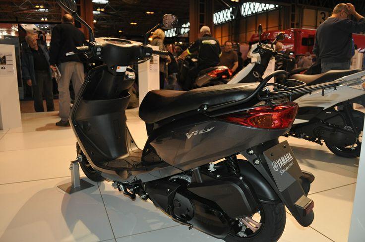 Yamaha Vity 125cc scooter, 4-stroke, SOHC, single cylinder, 2 valves, wet weight 110kg