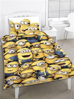 Despicable Me Minions Single Duvet Cover - Bedding Set! #DespicableMe #Minions