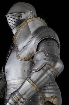 henry viii armour weightloss