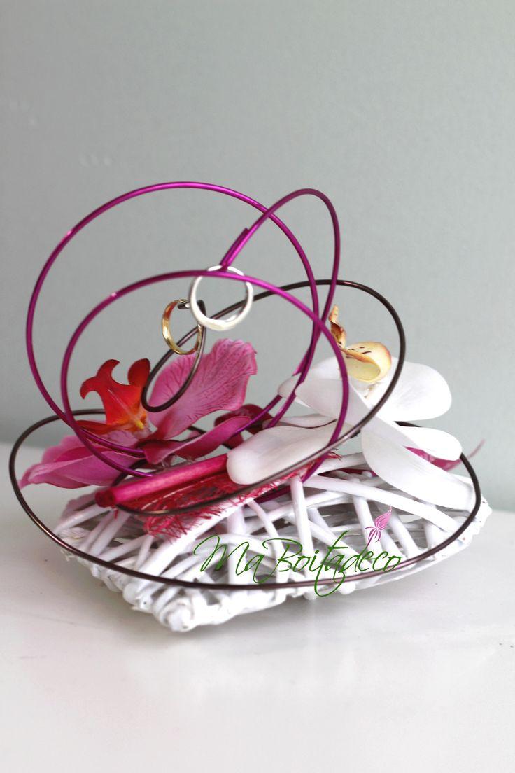 coeur, fil et orchidées