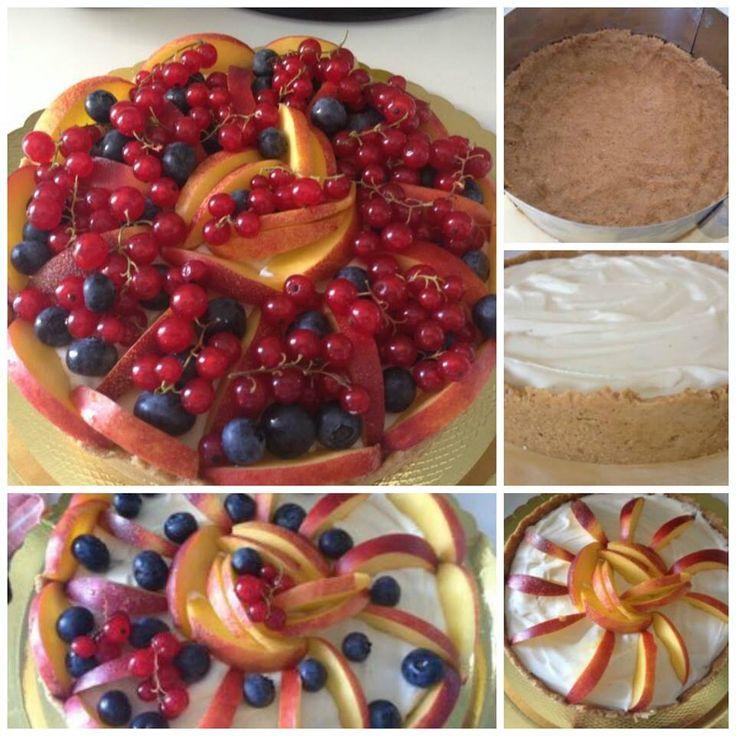 Cheesecake alla frutta!