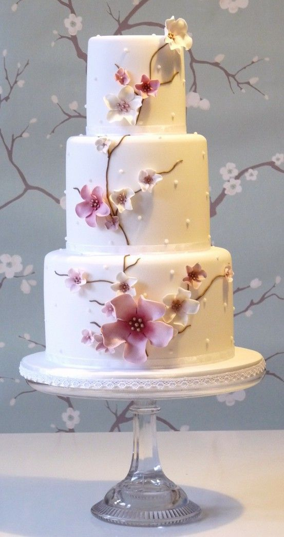 Oriental Wedding Cake - For all your cake decorating supplies, please visit craftcompany.co.uk