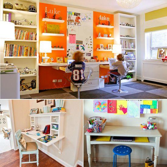 Encourage Homework Diligence With an Inspiring Homework Station