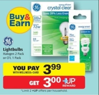 Print NOW! MONEYMAKER GE Light Bulb at Rite Aid after Sale, Coupon and +Up Reward (starting 12/28) - http://www.couponaholic.net/2014/12/print-now-moneymaker-ge-light-bulb-at-rite-aid-after-sale-coupon-and-up-reward-starting-1228/