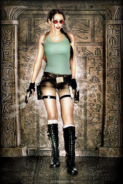 Lara Croft old school