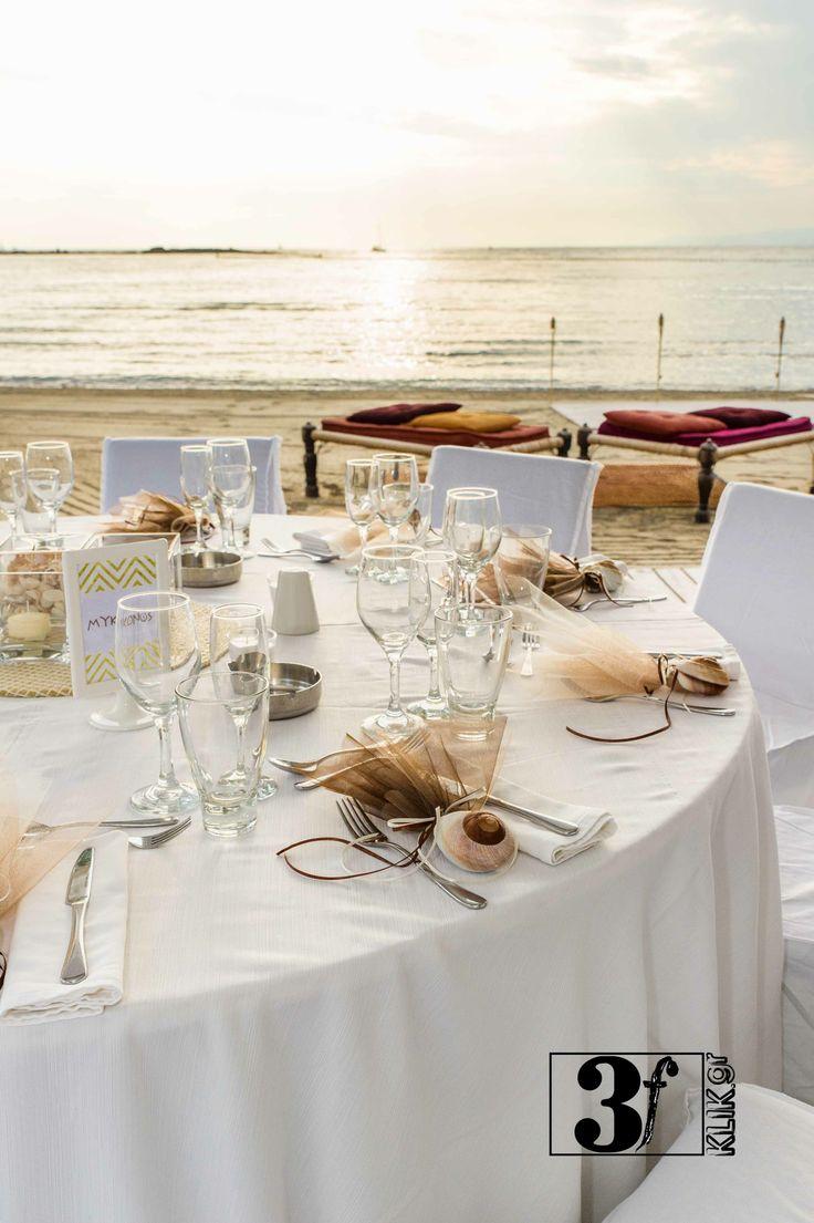 summer in Greece - wedding decoration @ Glyfada