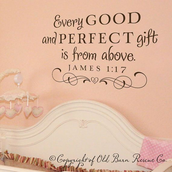 6 Things Every Perfectly Decorated Home Should Have: Every Good And Perfect Gift...Large New Vinyl Wall Decal