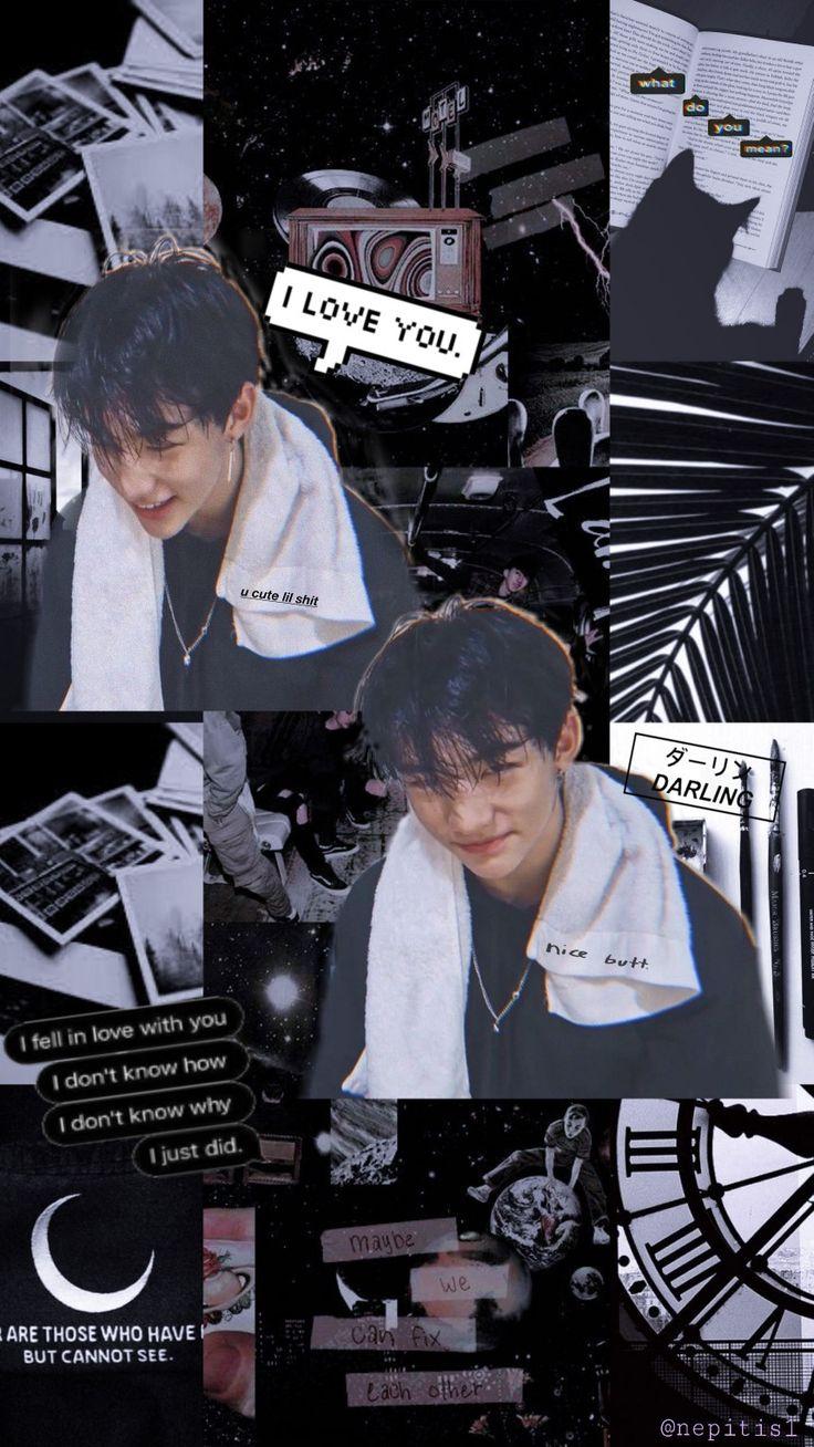 Hyunjin Mood Board Wallpaper Lockscreen Hyunjin Hyunjean