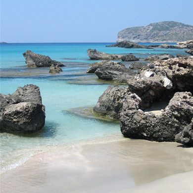 Falasarna Beach ... enchanting western Crete!  Wonderful way to spend a Wednesday afternoon,