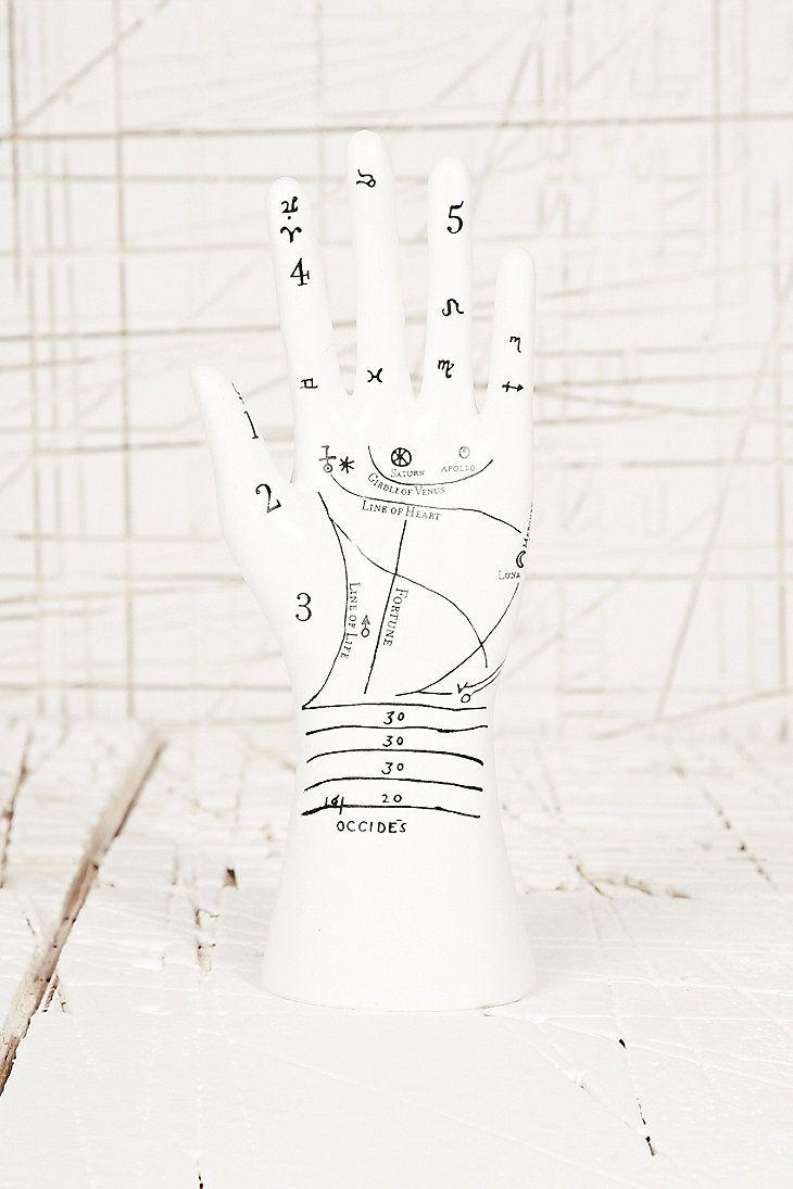 Palmistry Hand Jewellery Stand