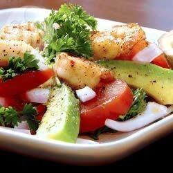 Avocado and Tomato Prawn Salad @ allrecipes.com.au